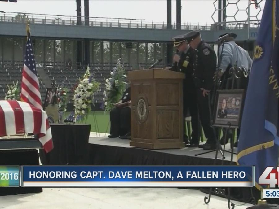 Honoring KCKPD Captain Dave Melton, a fallen hero