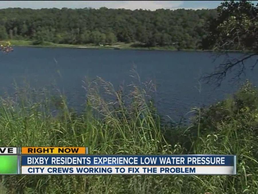 Bixby residents experience low water pressure