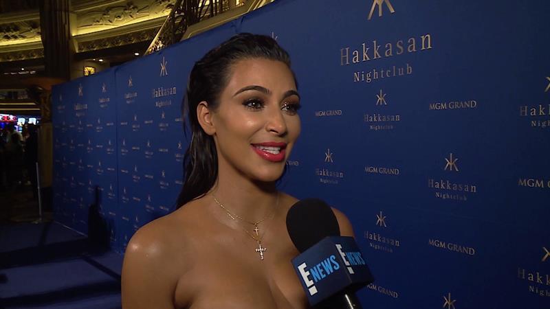 Kim Kardashian: Baby Saint West Is Talking!