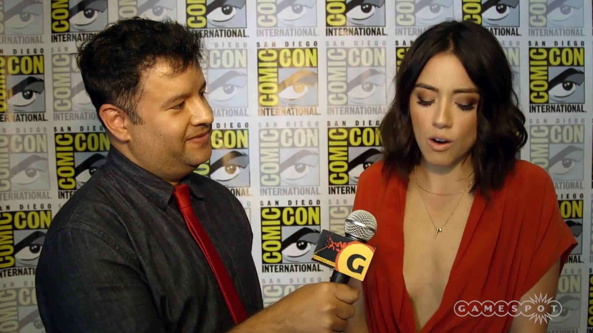 Agents of SHIELD Cast Interview - Comic-Con 2016