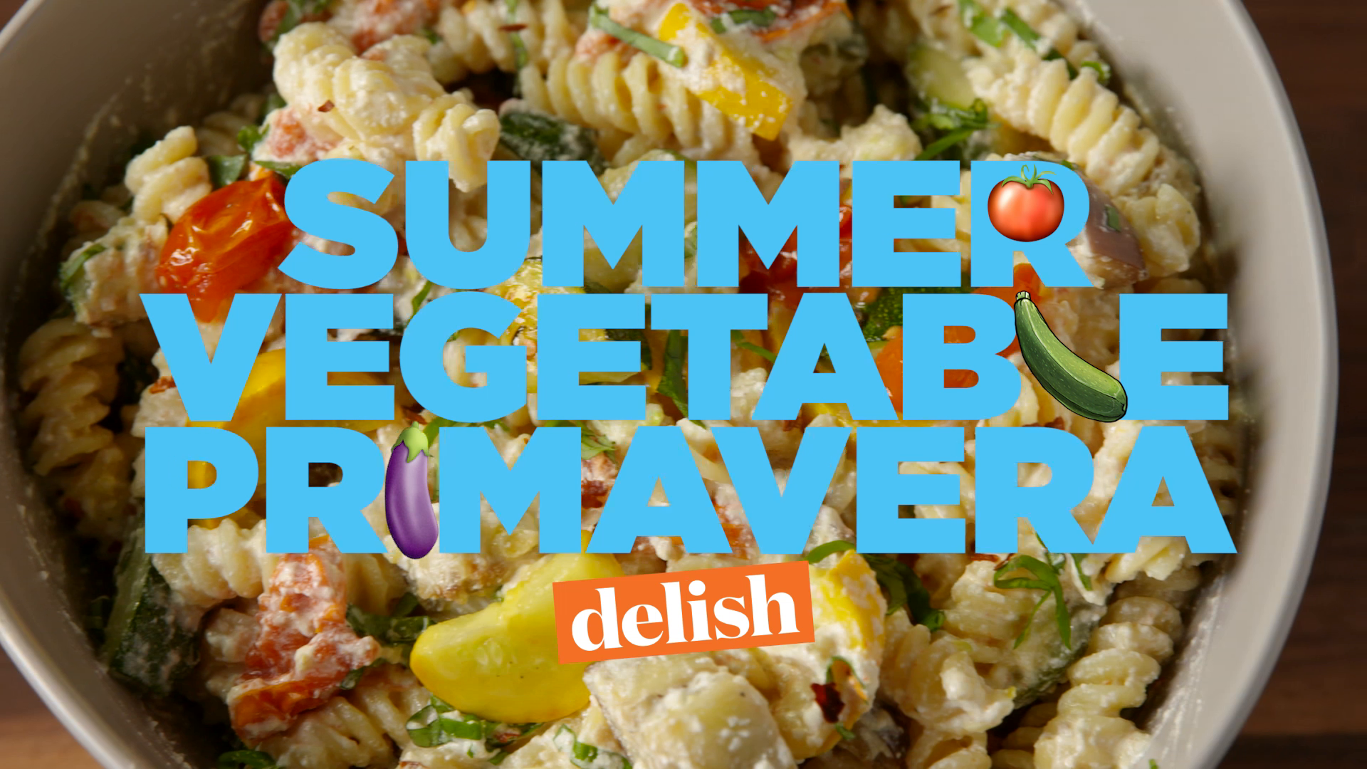 Summer Vegetable Pasta Primavera