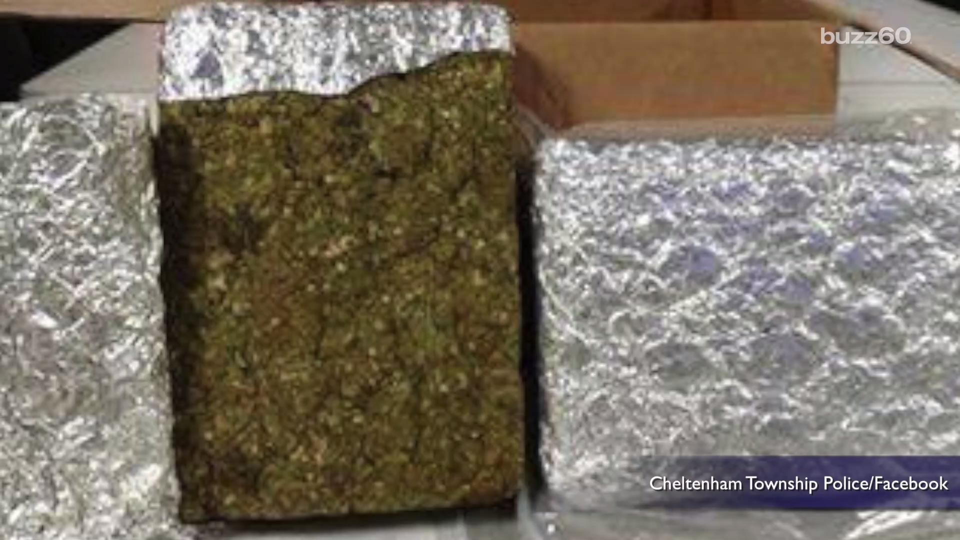Owner of 'Lost' Marijuana Brick Invited to Stop by Police Station