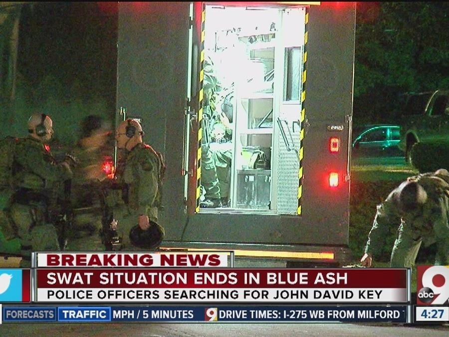 SWAT situation ends in Blue Ash