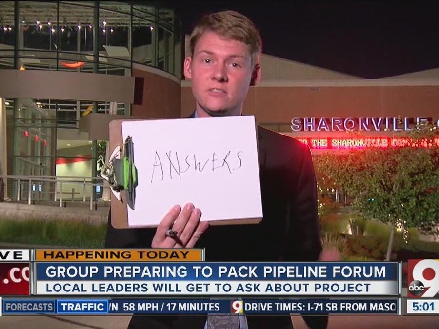 NOPE group prepares to pack pipeline forum Wednesday night
