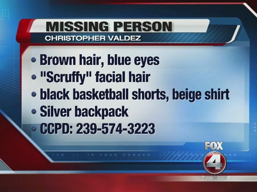 Missing endangered person in Cape Coral