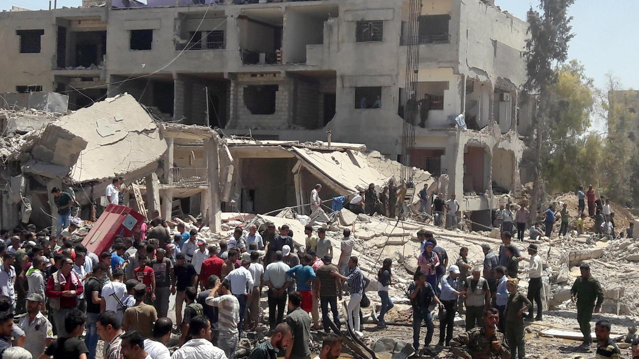 Twin Bombings Hit Northern Syria