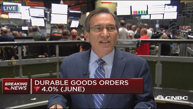 Durable goods orders down 4.0% in June