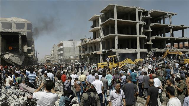 Suicide Bomber Kills Dozens on Syria-Turkey Border