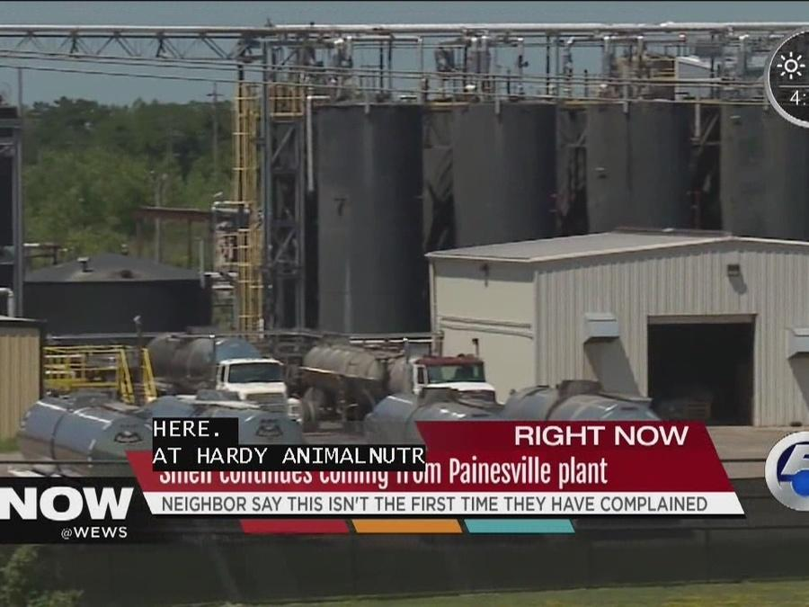 Painesville residents sick of stinky nearby Hardy Animal Nutrition Plant, Tara Molina investigates