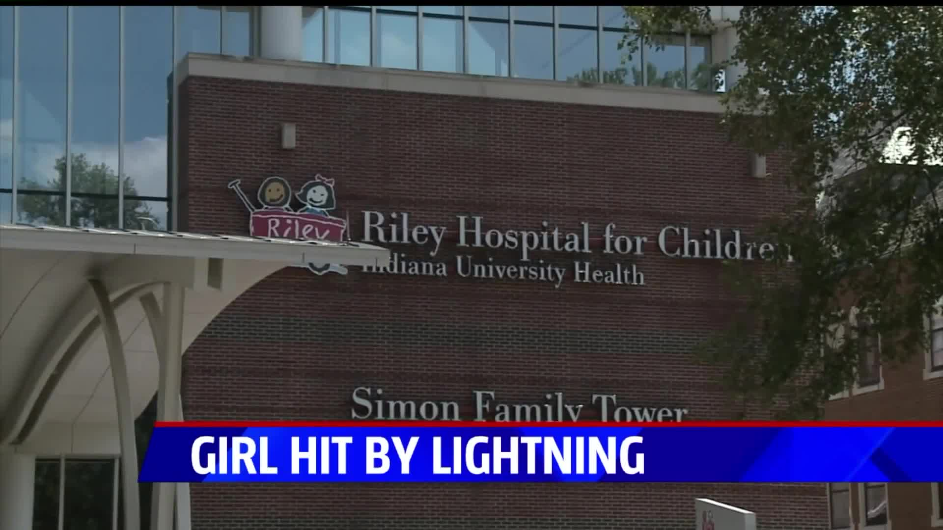 6-Year-Old Girl Struck By Lightning While Getting Into Grandmother's Car