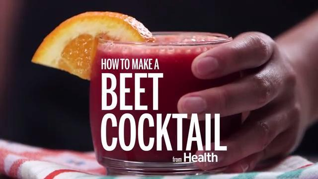 How to Make a Beet Cocktail