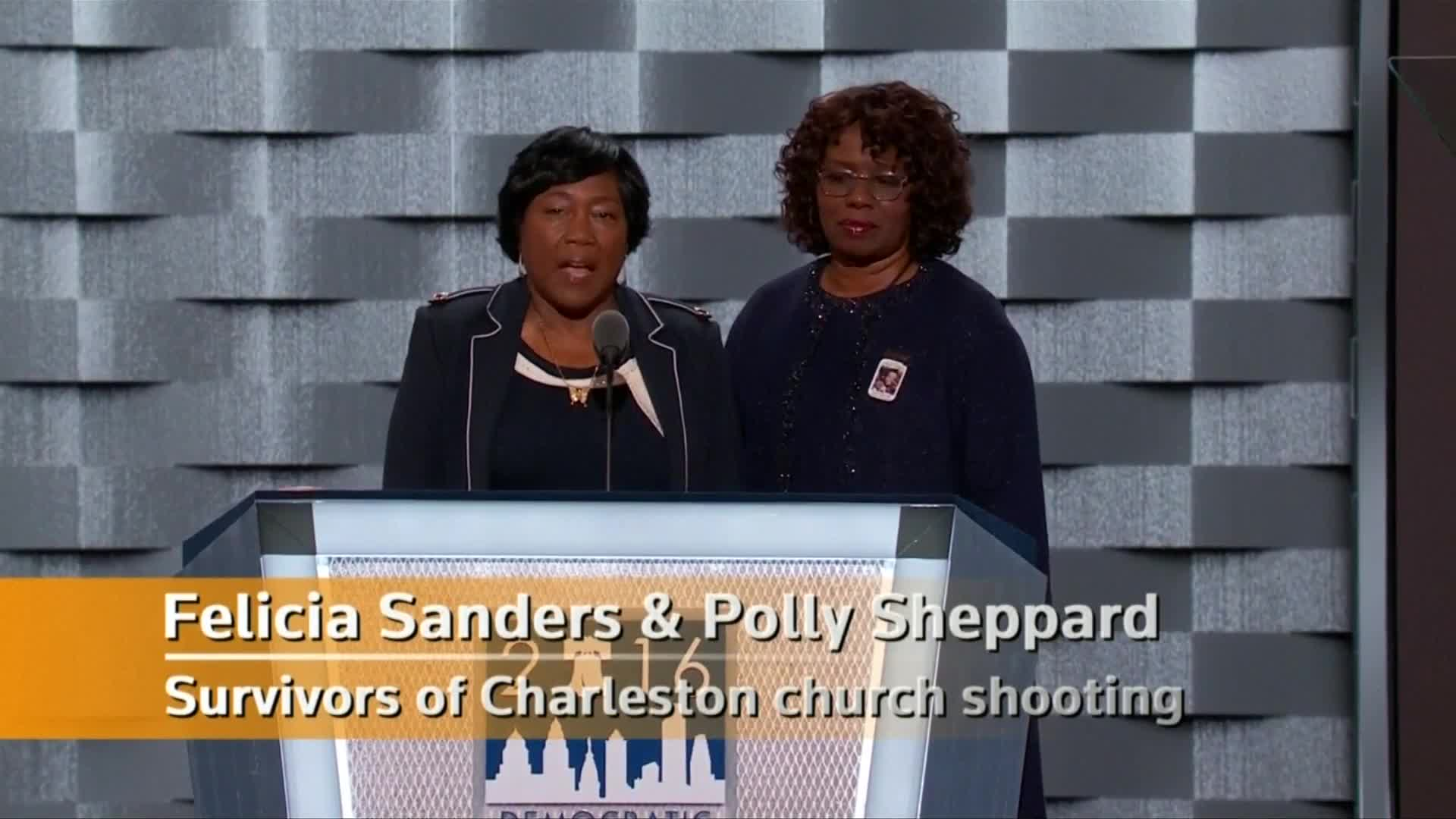 Giffords, advocates call for gun law reform at DNC