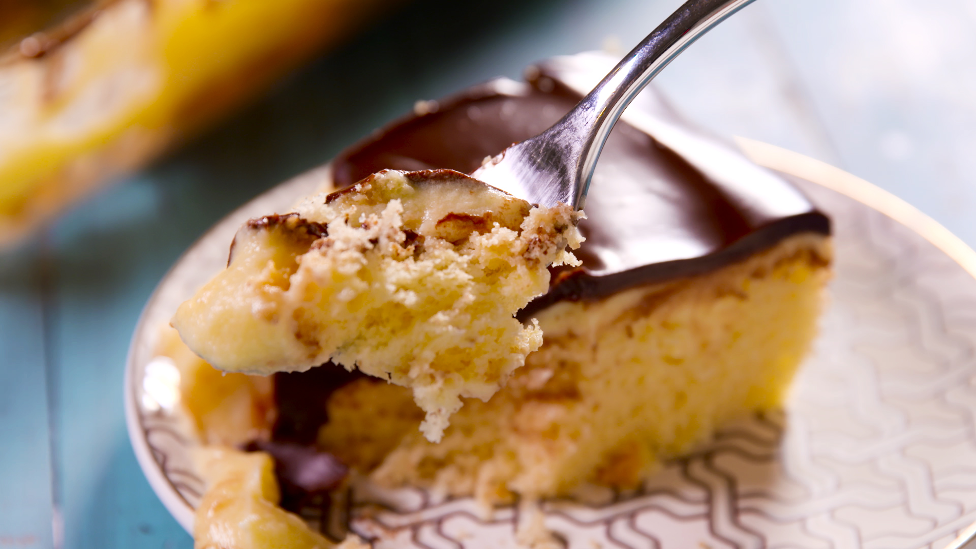 Boston Cream Poke Cake Recipe