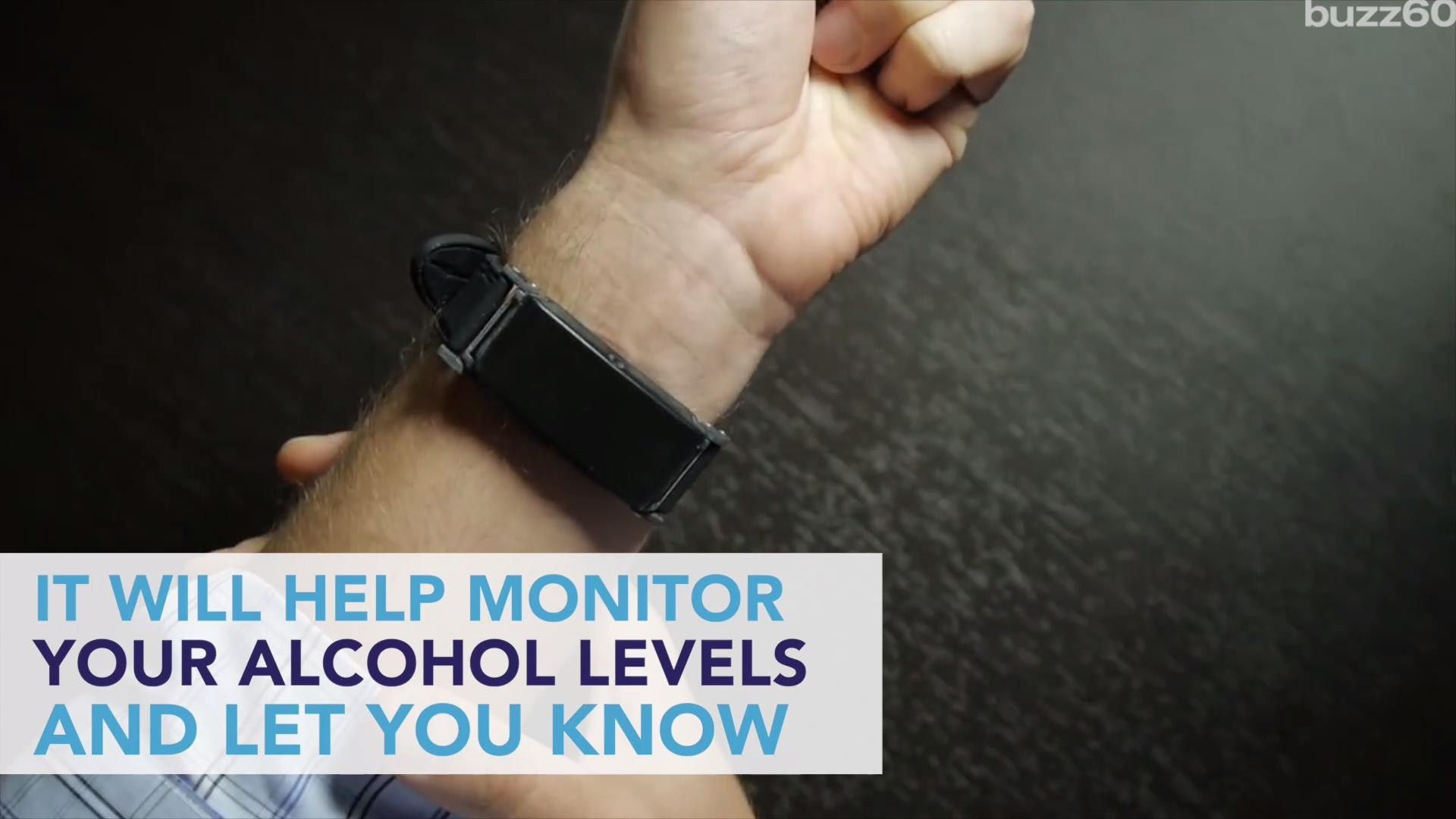 A 'Fitbit' Type Bracelet Measures Your Drinking