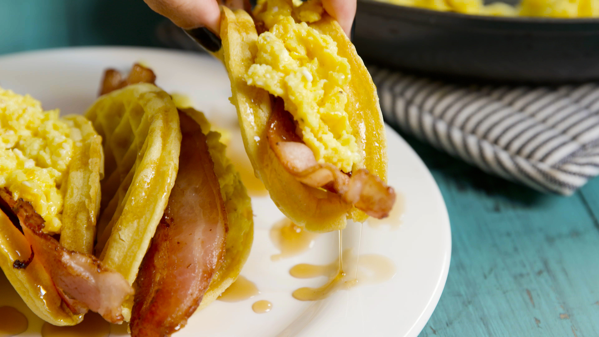 How to Make Waffle Tacos