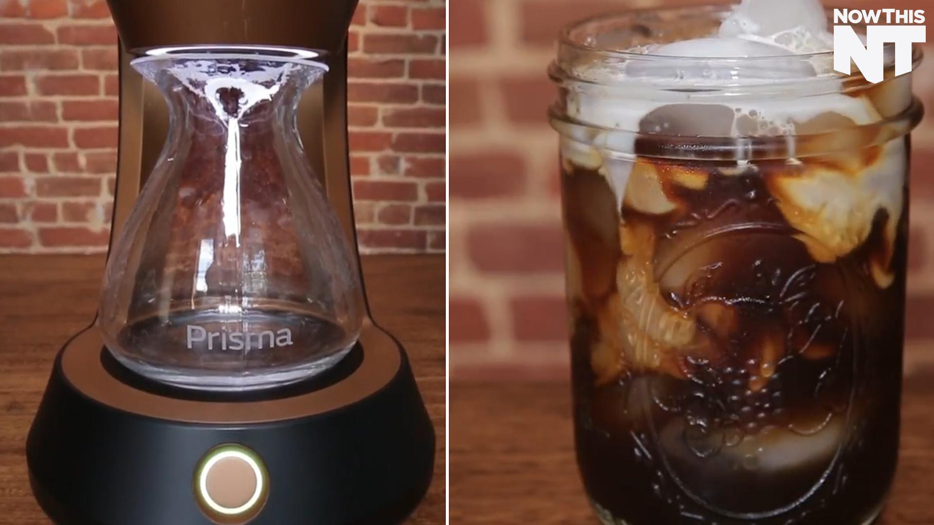 This Coffee Maker Can Brew Cold Brew in 10 Minutes