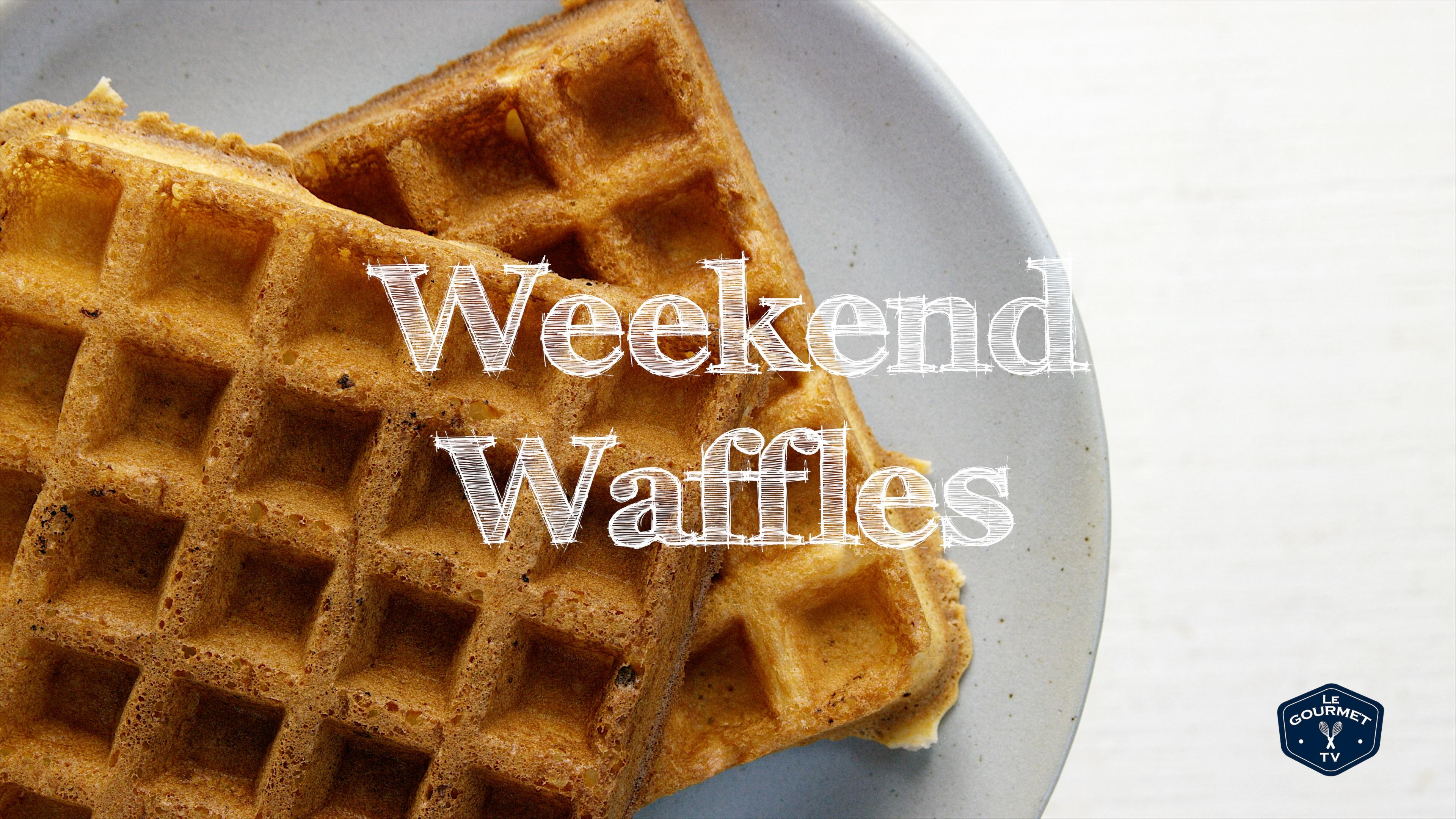 How to Make Weekend Waffles