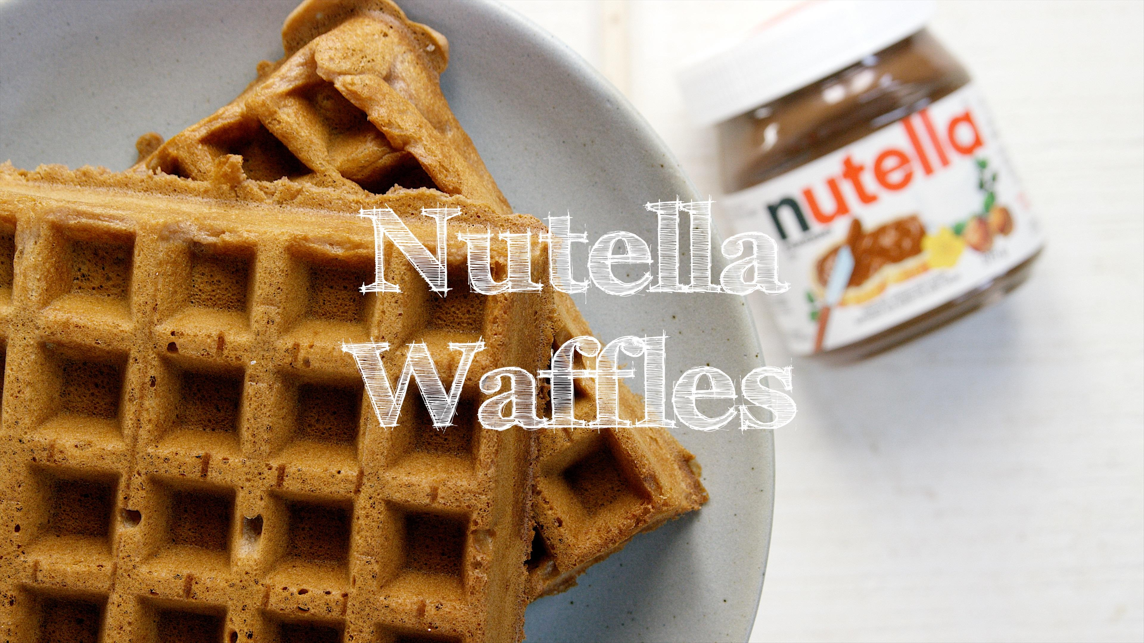 How to Make Nutella Waffles