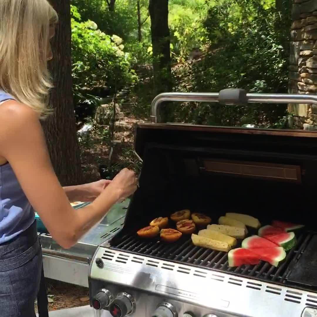 Live at Southern Living: How to Grill Fruit with Gena Knox