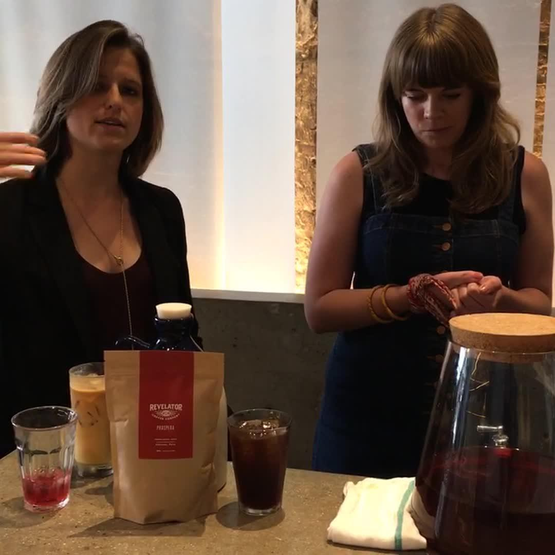 Live at Southern Living: Making Cold Brew Coffee At Home
