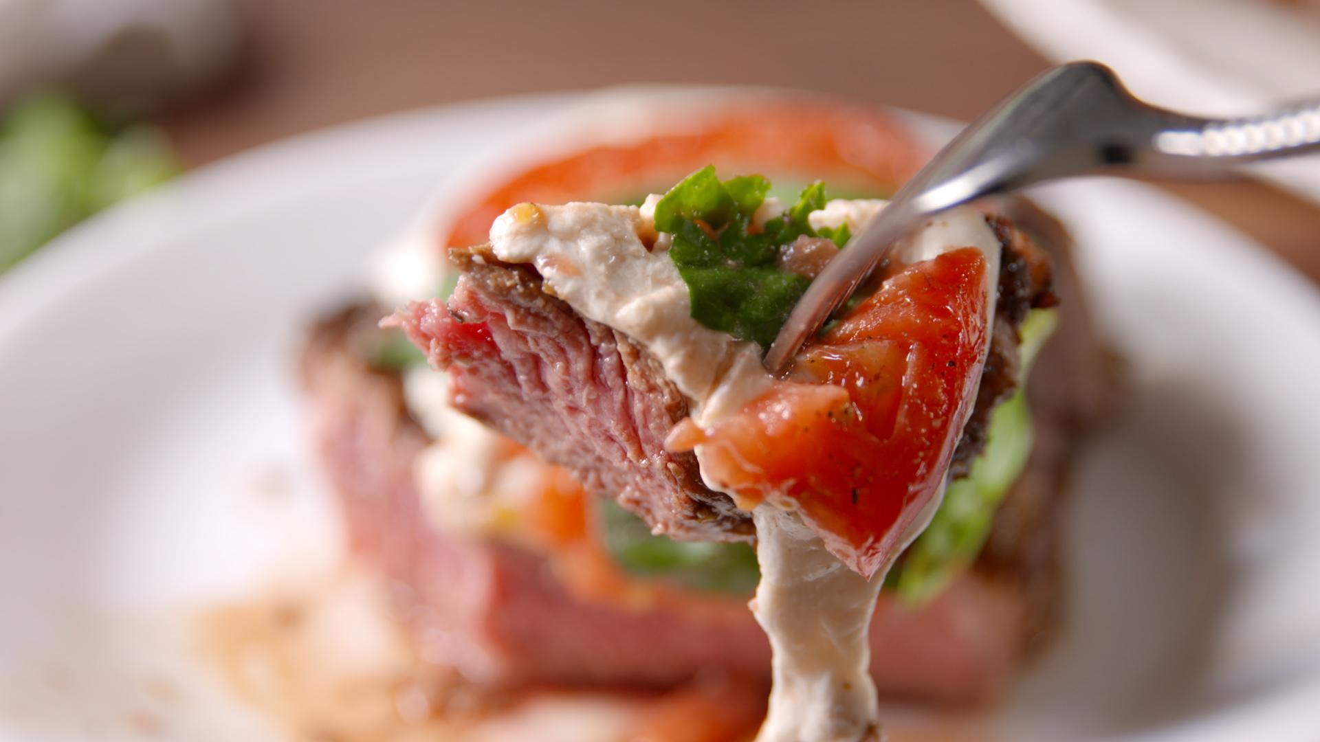 Caprese Steak Recipe