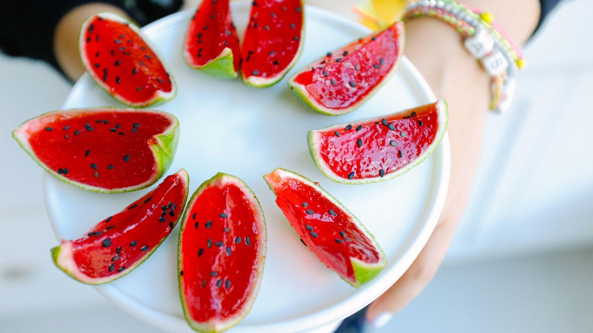 How to Make Mini Jell-O Watermelon