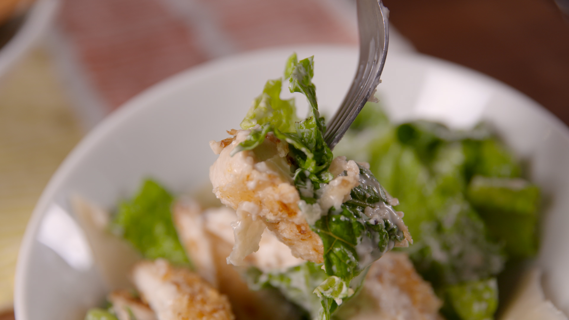 Crispy Chicken Caesar Salad Recipe