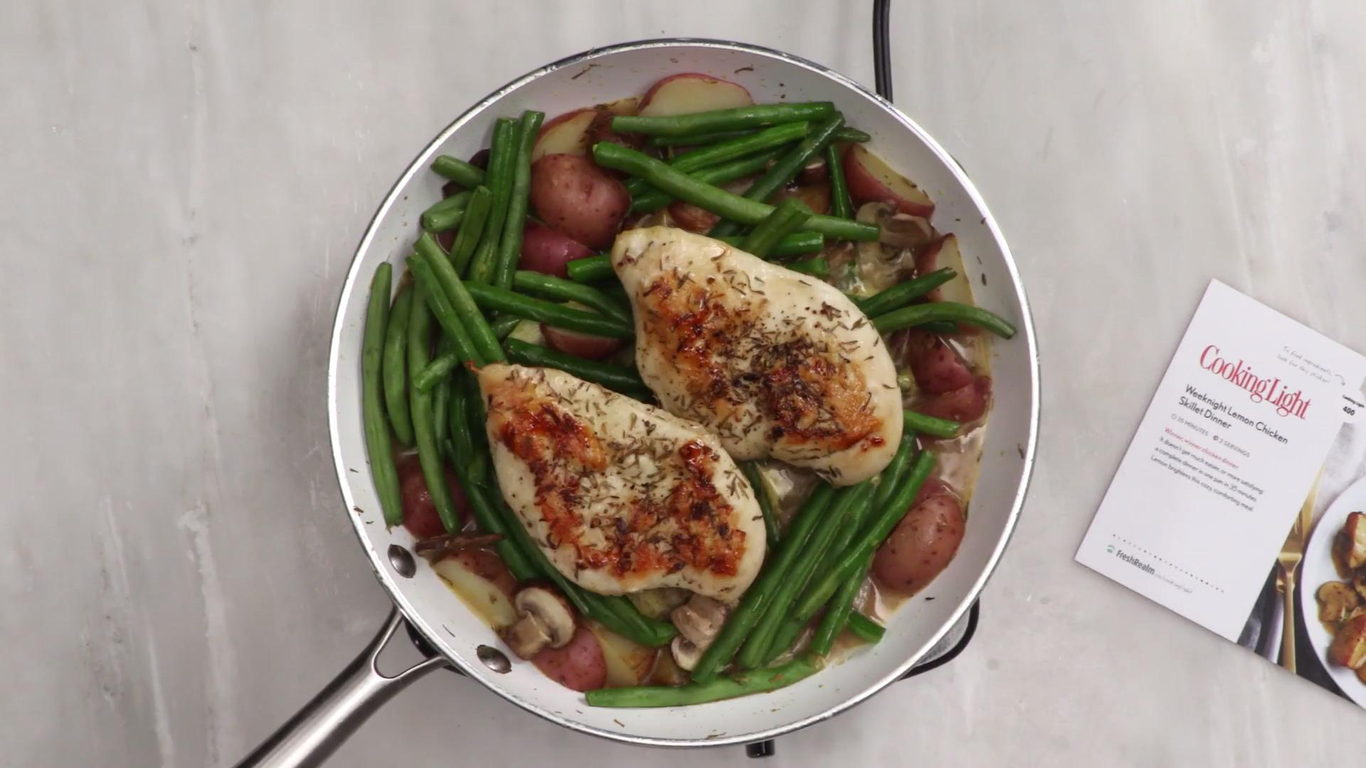 How to Make Lemon Chicken Skillet with Fresh Realm