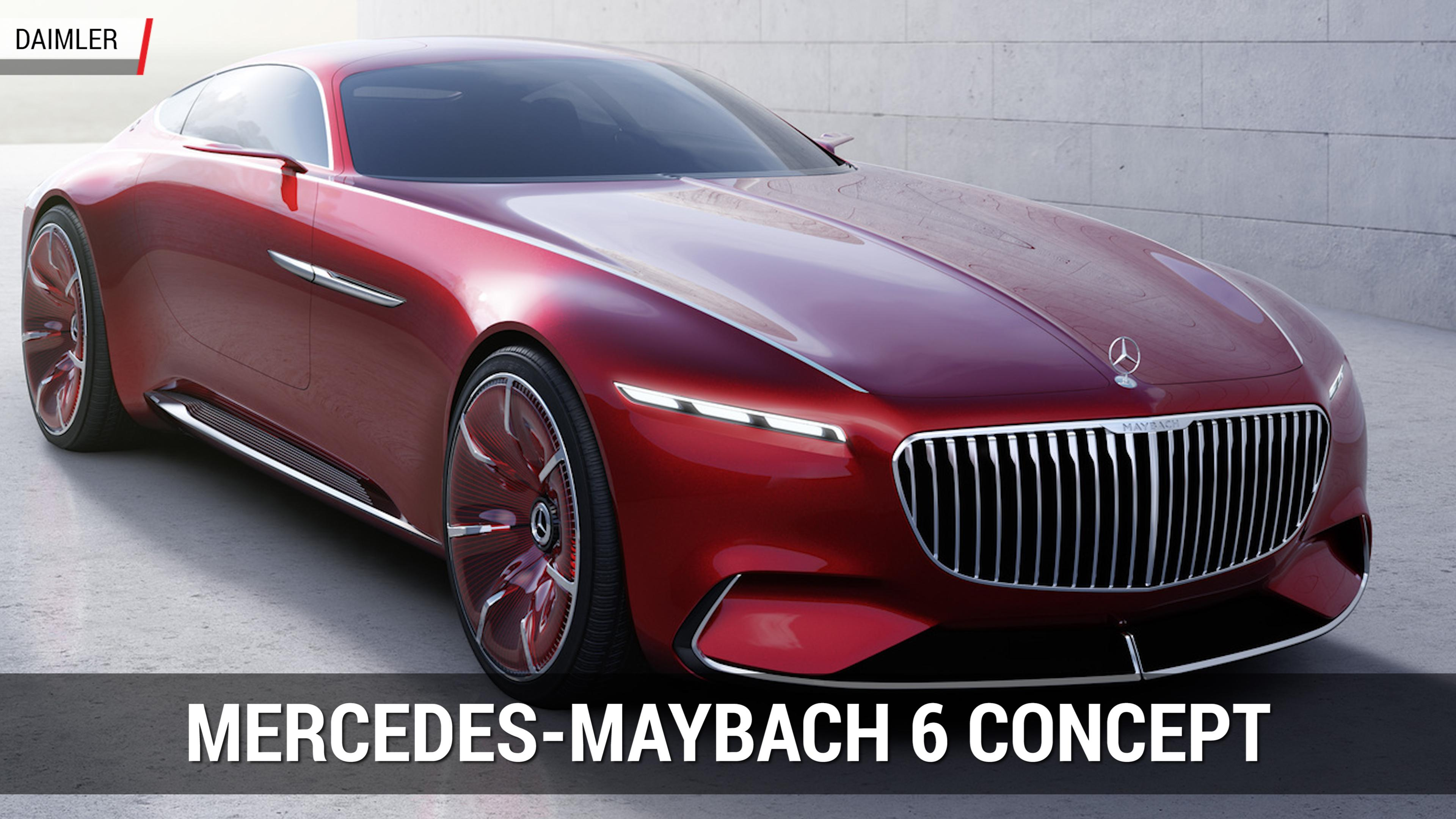 Vision Mercedes Maybach 6 Cabriolet Is Last Year S Concept With A