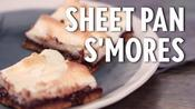 How to Make Sheet Pan S'mores