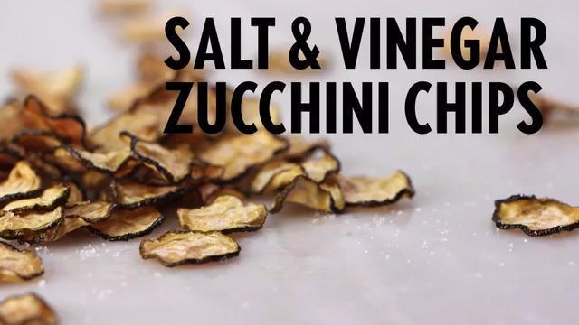 How to Make Salt and Vinegar Zucchini Chips