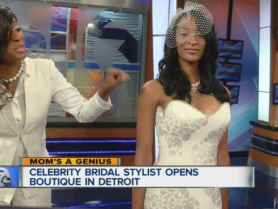 Celebrity bridal stylist Keasha Rigsby opens up bridal boutique in Detroit