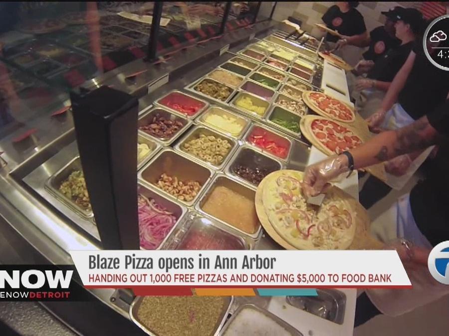 Blaze Pizza opens in Ann Arbor
