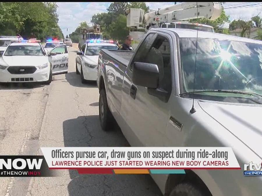 Lawrence police officers use new body cams for first time