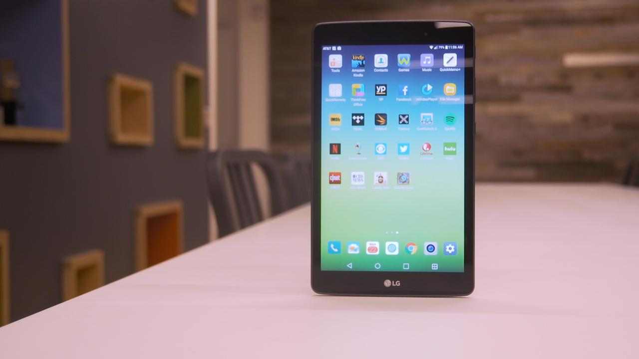 A $50 LG tablet worth buying -- if you're an AT&T customer