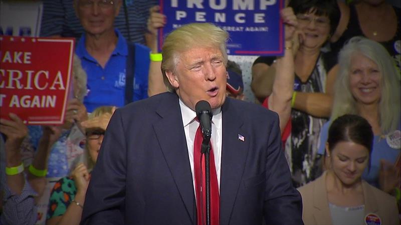 Trump signals 'softening' on immigration