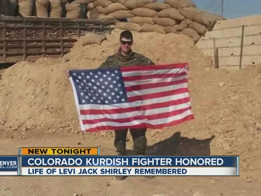 Colorado Kurdish fighter honored