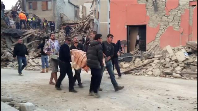 Deadly Earthquake Strikes Central Italy