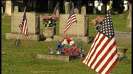 Bronze Medallions Stolen From Veterans' Graves At Some of State's Oldest Cemeteries