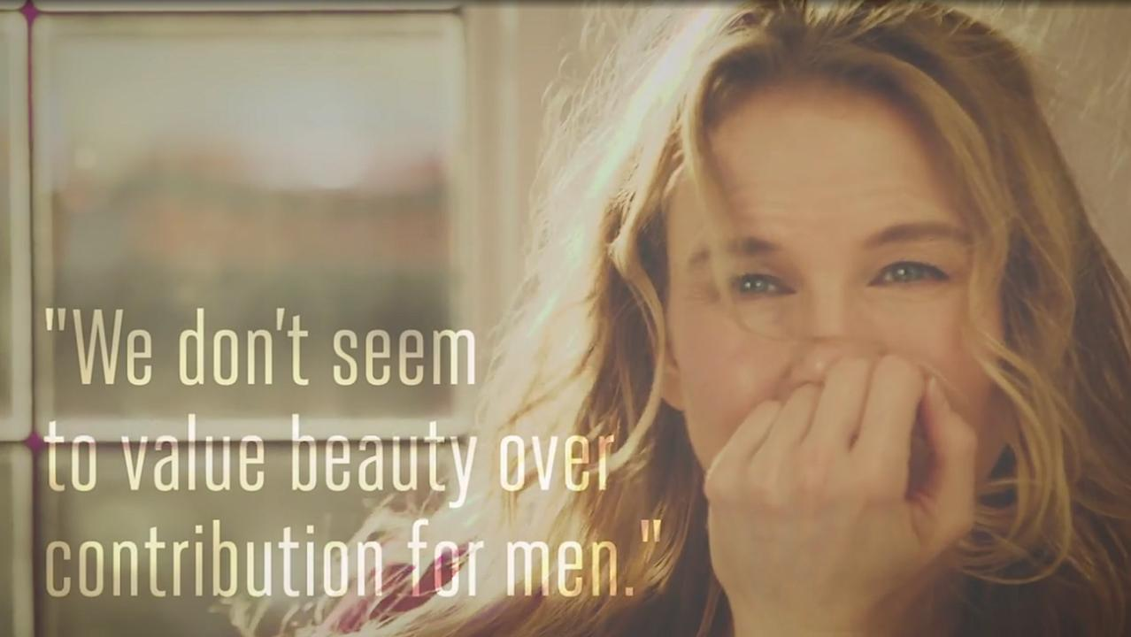 """Renee Zellweger: """"We Don't Seem to Value Beauty Over Contribution for Men"""" - One Day In the Palisades"""