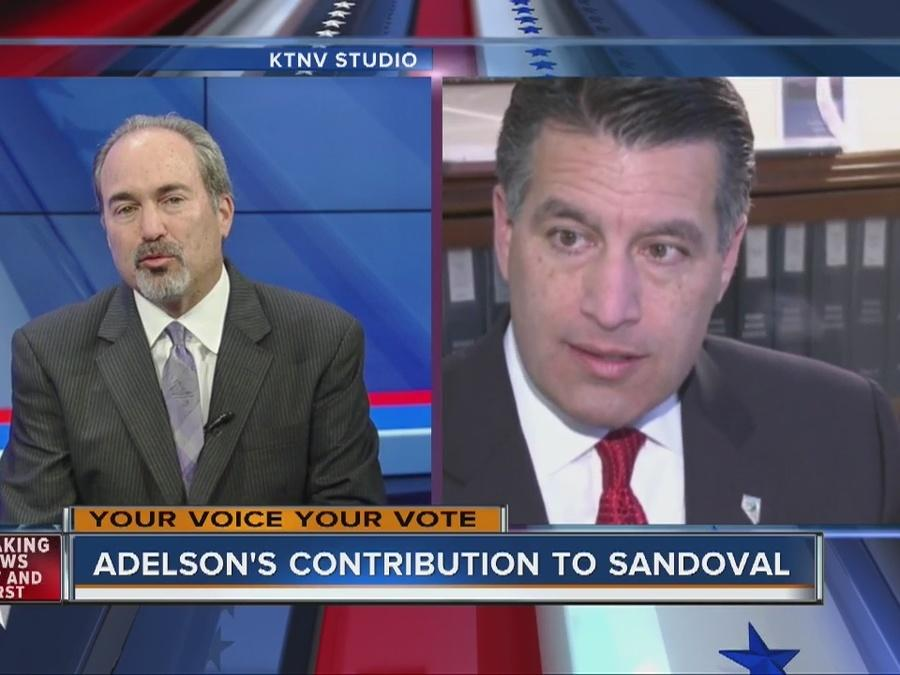 RALSTON: Adelson's contribution to Sandoval