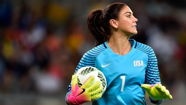 US Soccer Suspended Hope Solo and Terminated Her Contract