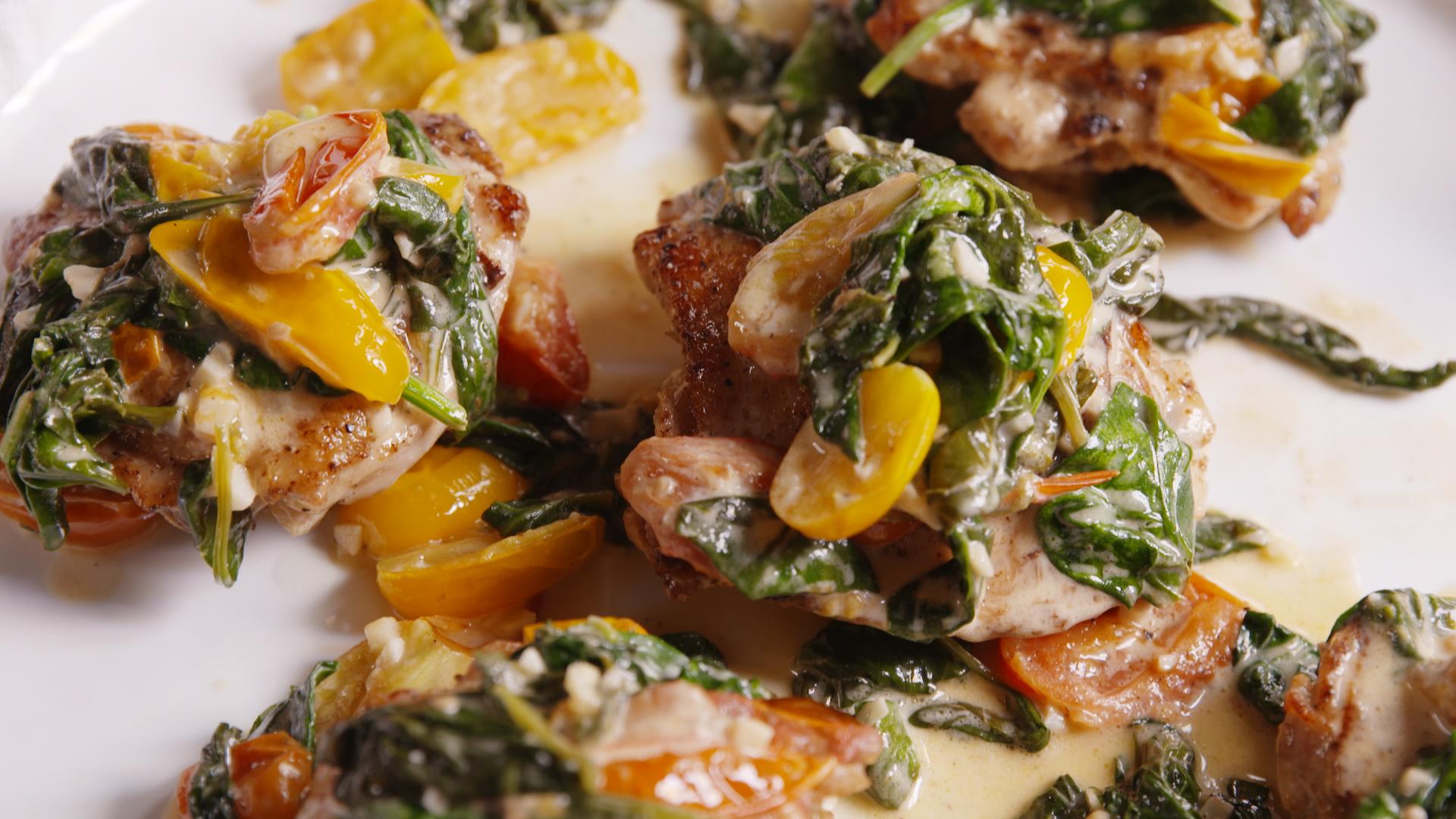 How to Make Chicken Florentine