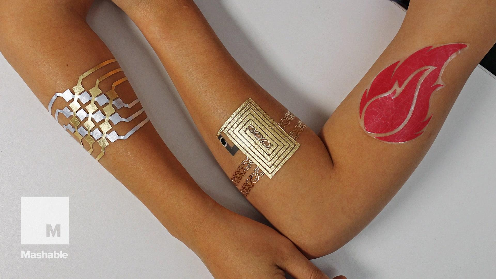 Tattoos that can control your phone are here and totally essential
