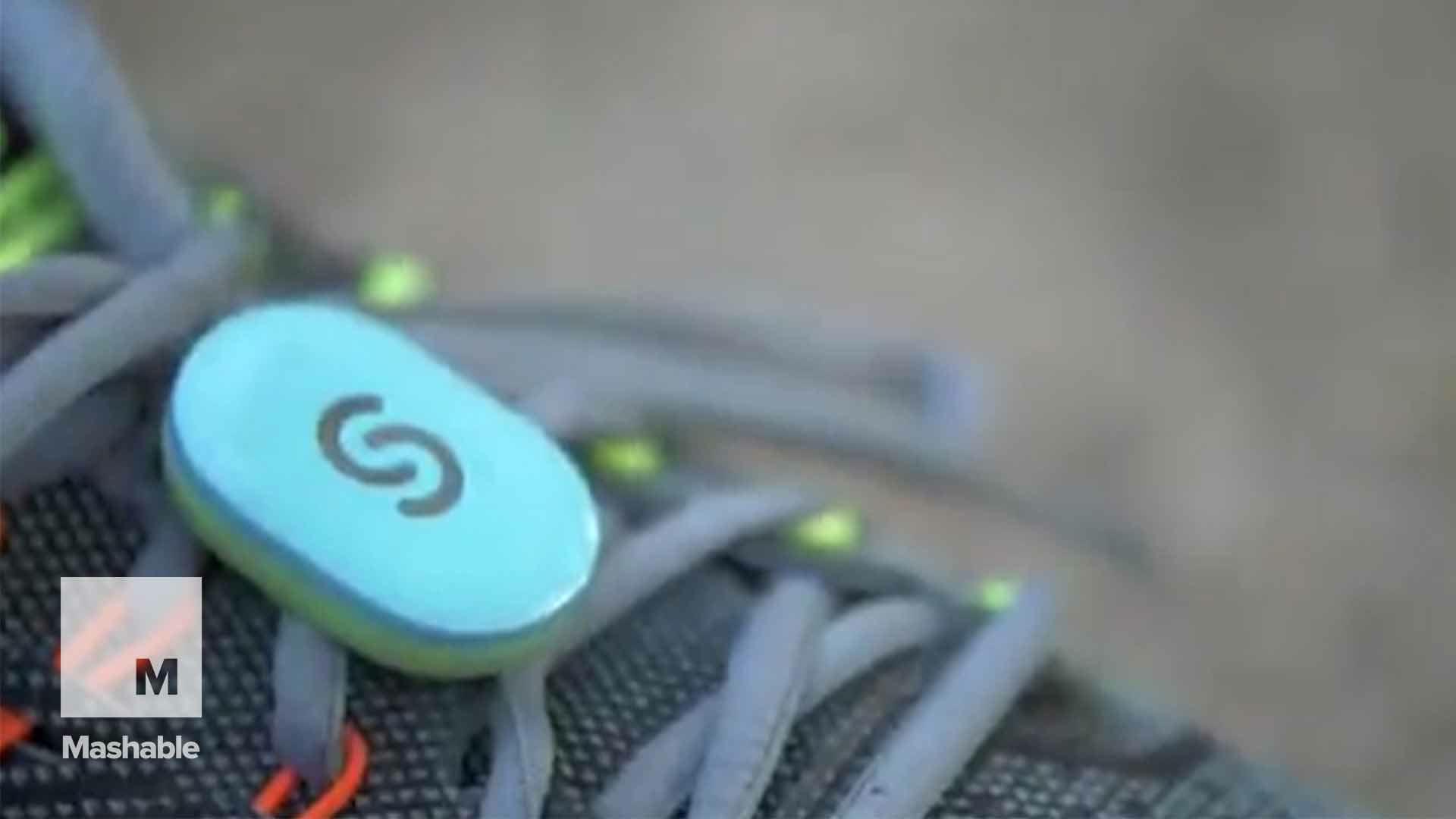 Talking shoe sensor coaches you as you run