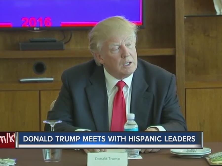 Donald Trump makes surprise visit to Las Vegas