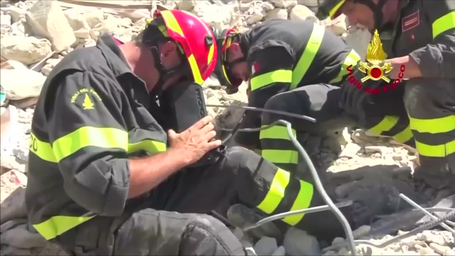 State funeral for some of the quake victims in Amatrice