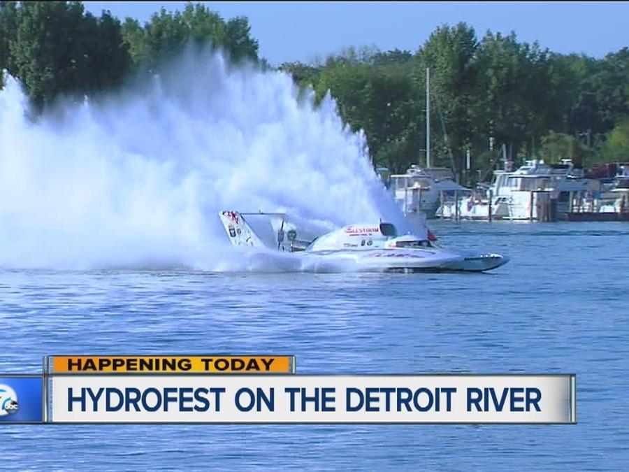 Detroit Hydrofest on the Detroit River