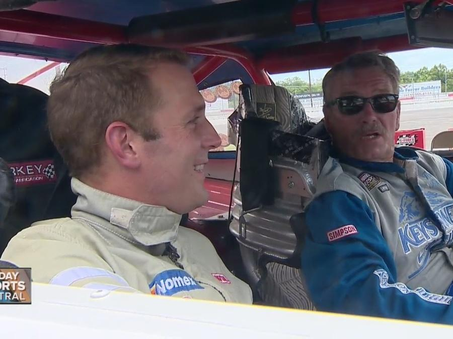 Sports Anchor Steve Layman Takes 'Ride Of His Life'