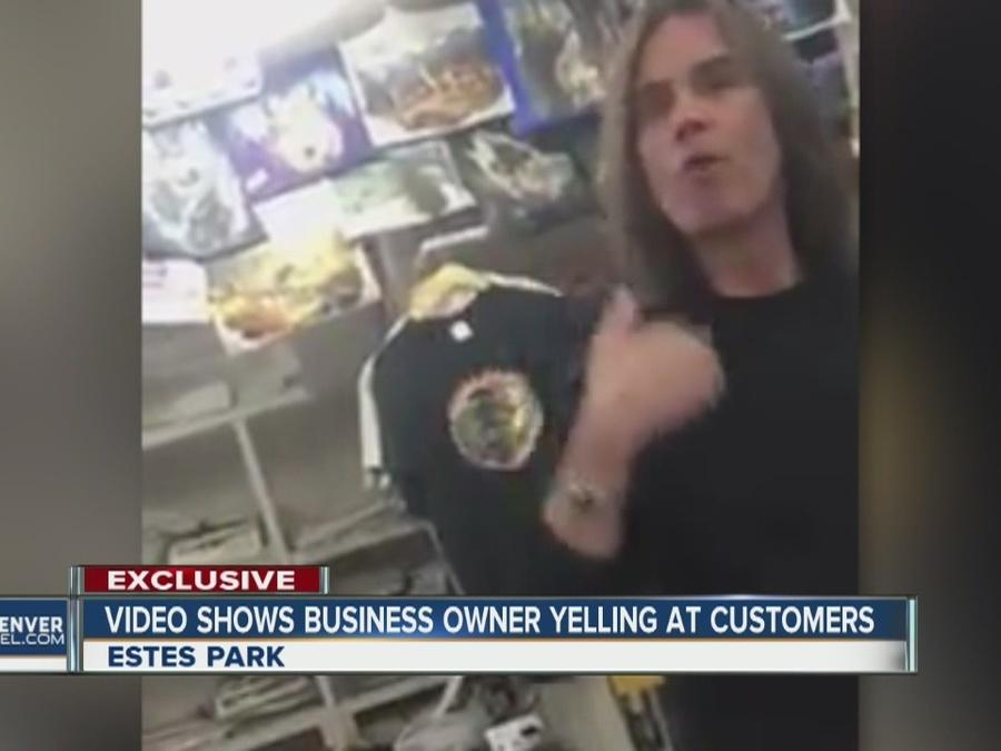 Viral video shows Estes Park shop owner go off on what he calls 'privileged women'